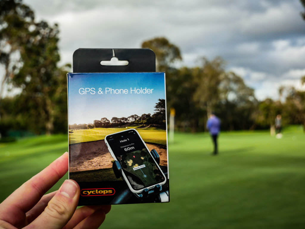 Cyclops Golf Buggy GPS and Phone Holder